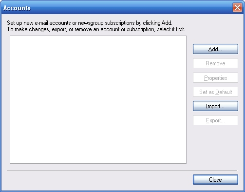 how to close windows email account